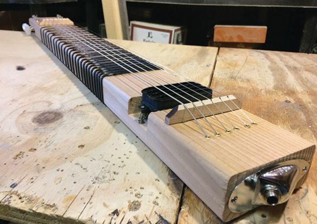 The Diy Musician How To Build A 2x4 Lap Steel Guitar Lap Steel