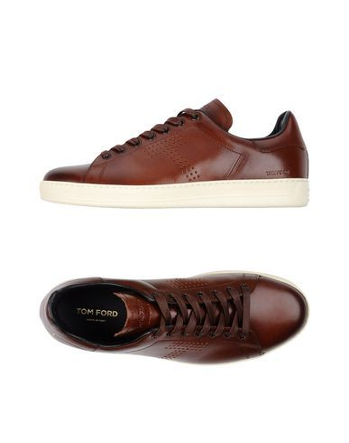 TOM FORD Men's Low-tops & sneakers Cocoa 10 US