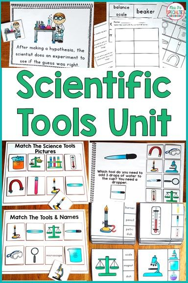 Scientific Tools Special Education Science Unit Integrate