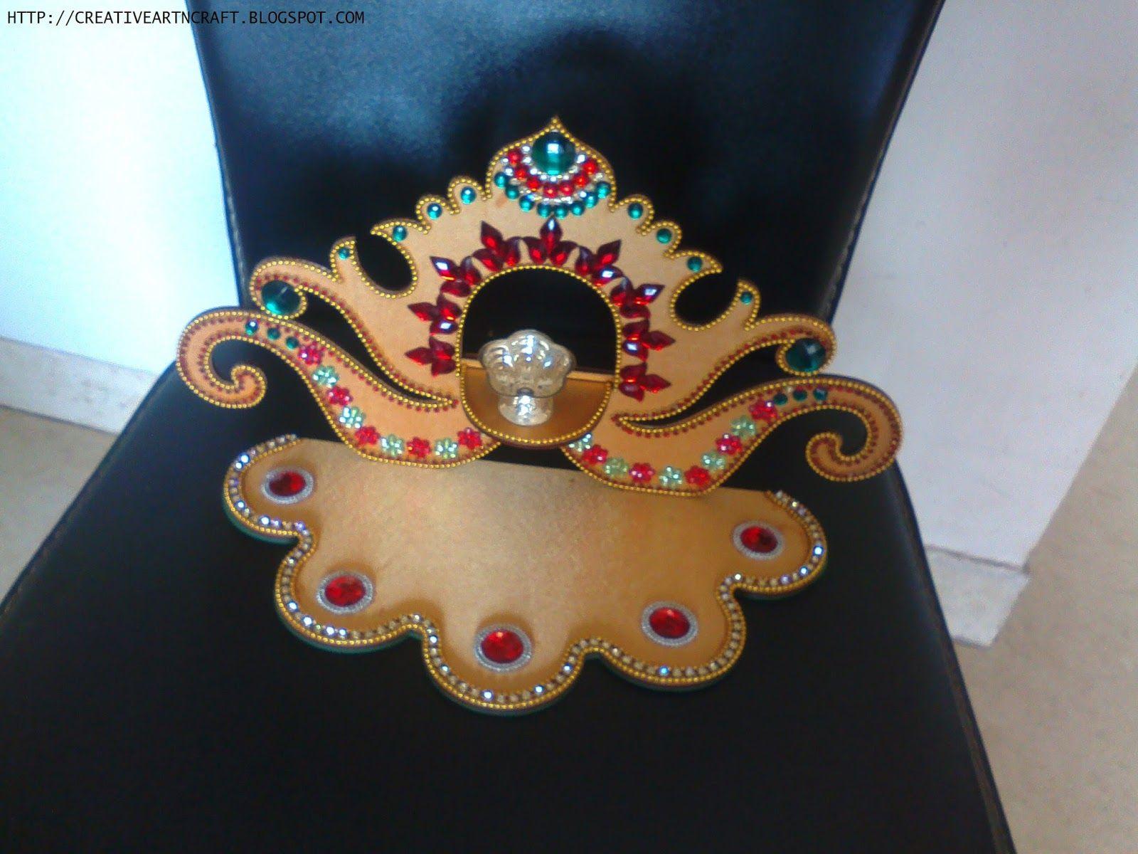anu s art and crafts diya stand wow craft pinterest crafts