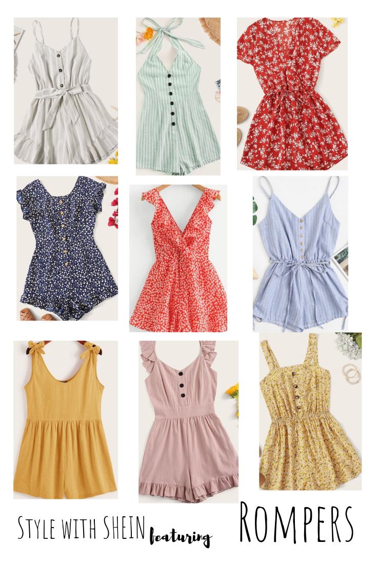 Shein Summer Finds Gracefulandfree Dresses Rompers Skirts Stylish Women Fashion Influencers Fashion Fashion [ 1102 x 735 Pixel ]