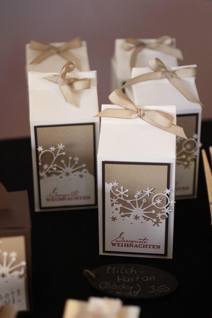 weihnachtsmarkt verpackung weihnachten milchkartons und. Black Bedroom Furniture Sets. Home Design Ideas
