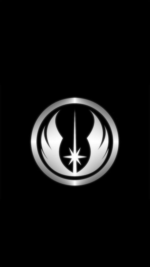 Wallpapers Iphone5 Star Wars Wallpaper Jedi Symbol Star Wars The Old