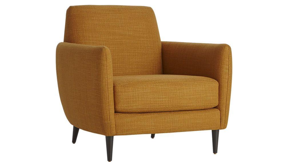 parlour chair Parlour Modern chairs and Yellow armchair