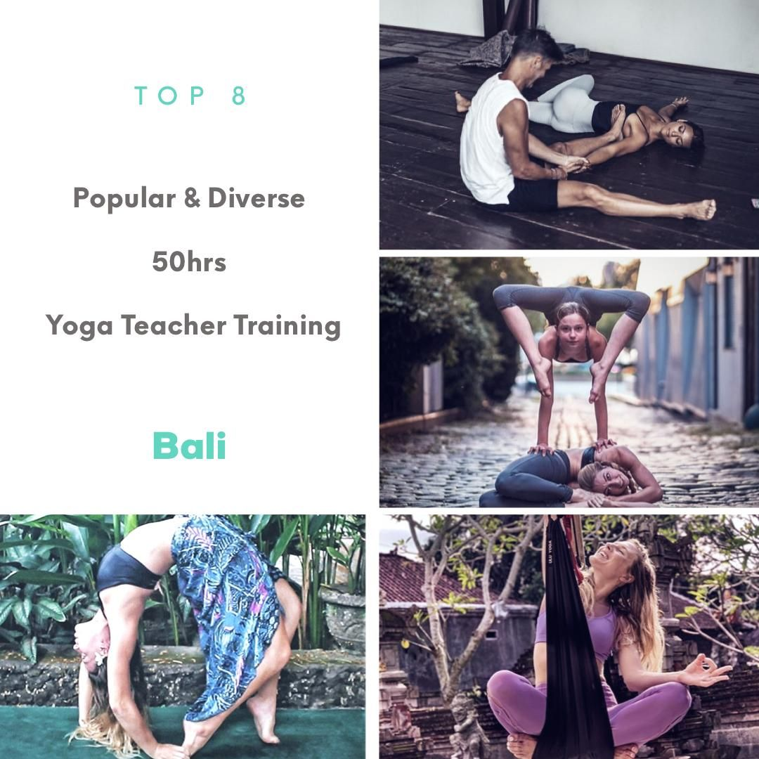 8 most popular 50hrs yoga teacher training in bali