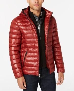 227a865a9 Calvin Klein Men Packable Down Hooded Puffer Jacket in 2019 ...