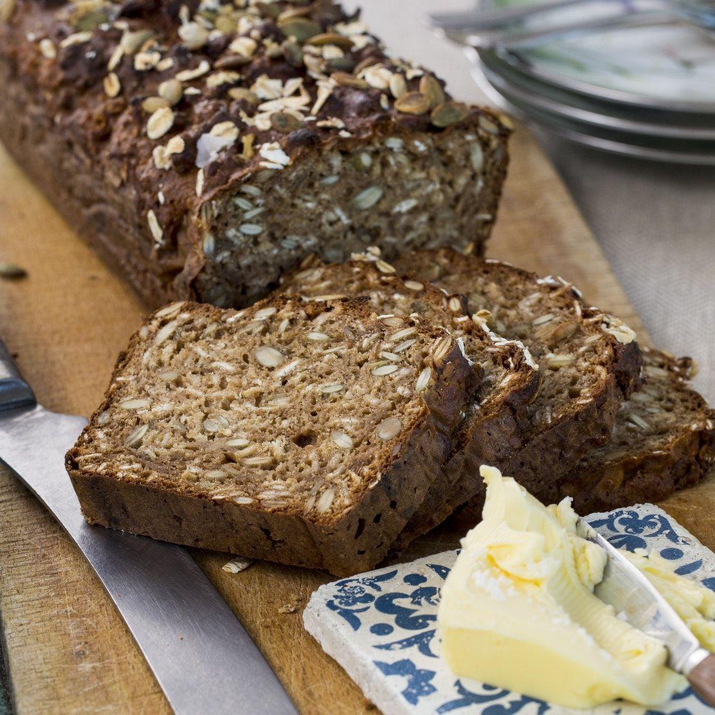 grovt bröd med frön