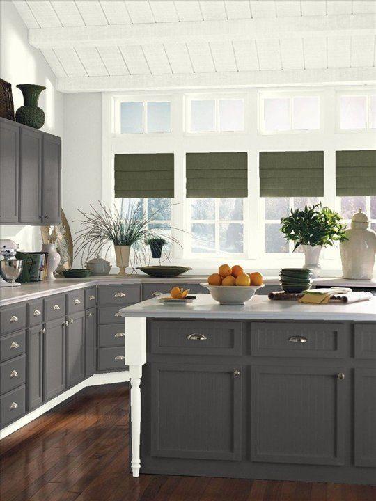 Grey Kitchen Units Paint Ideas