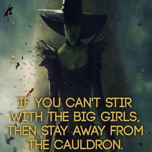 Big Girl Witches