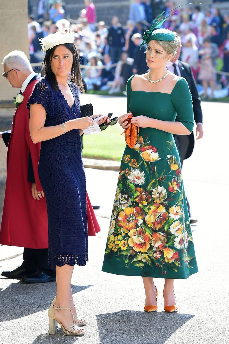 30 Insanely Chic Royal Wedding Guests That Really Brought Their A Game Mydomaine Hochzeitskleid Dirndl Hochzeitskleid Bunt Hochzeitskleid Ballkleid