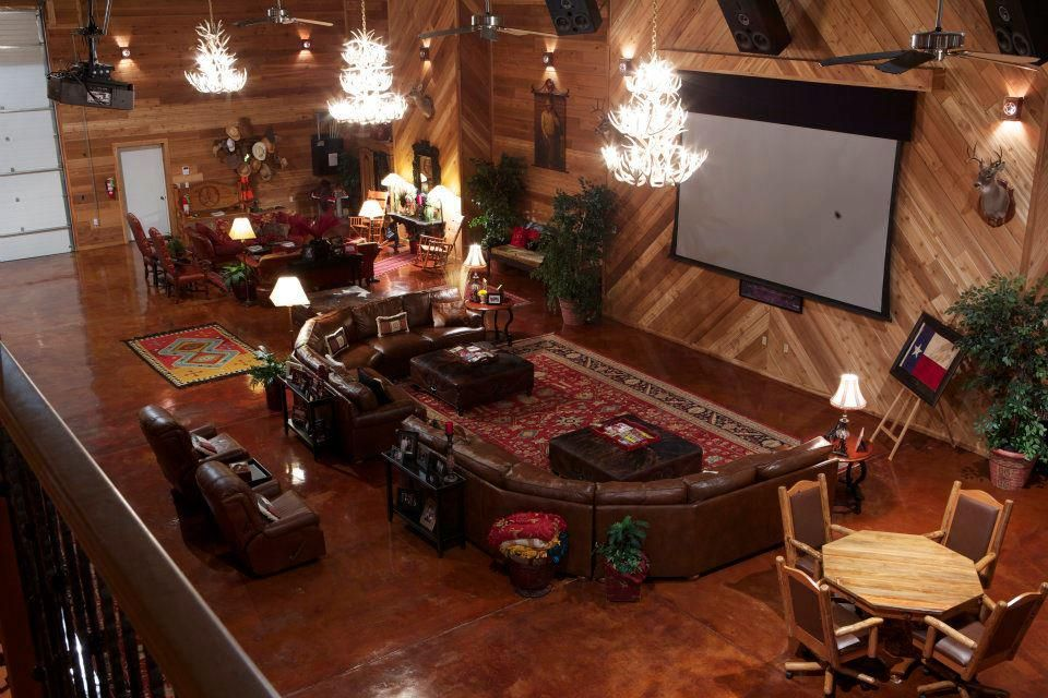 Man Caves Buildings : Morton buildings man cave in texas hobby garages
