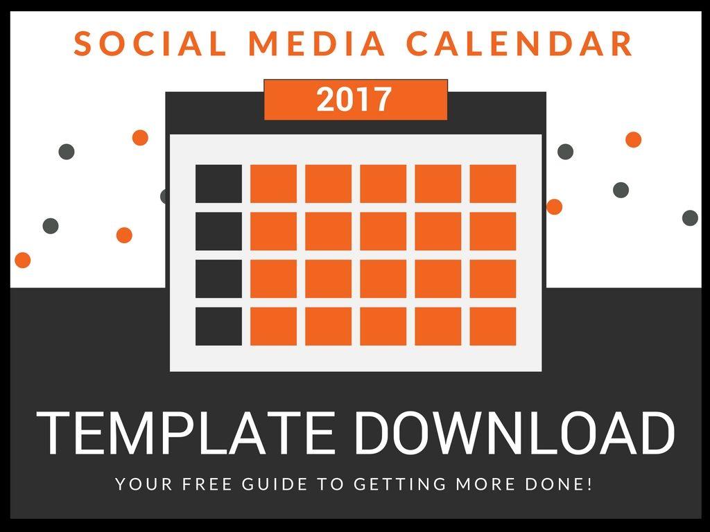 How to Fill Up Your Social Media Calendar Strategy Template – Social Media Calendar Template