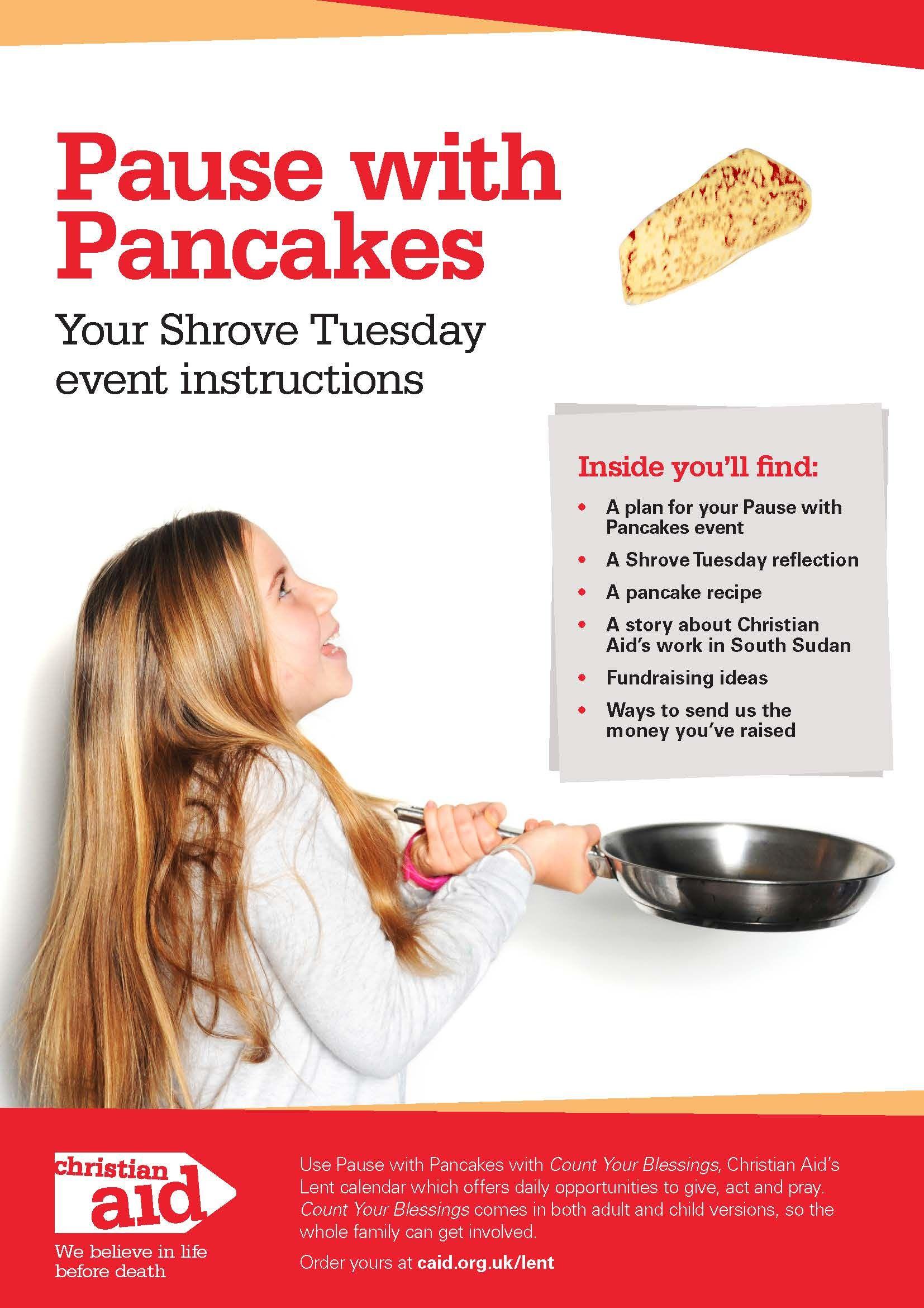Shrove Tuesday Pack Image Shrove Tuesday Lent Fundraising