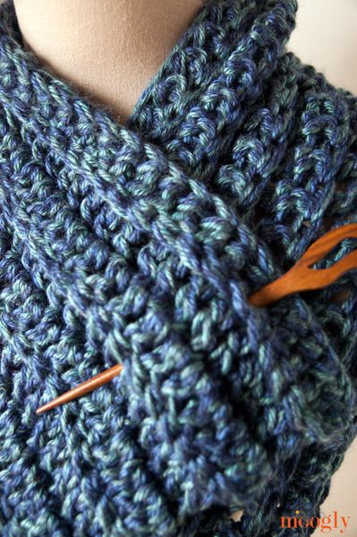 Big Rib Scarf Pinterest Free Crochet Scarves And Crochet