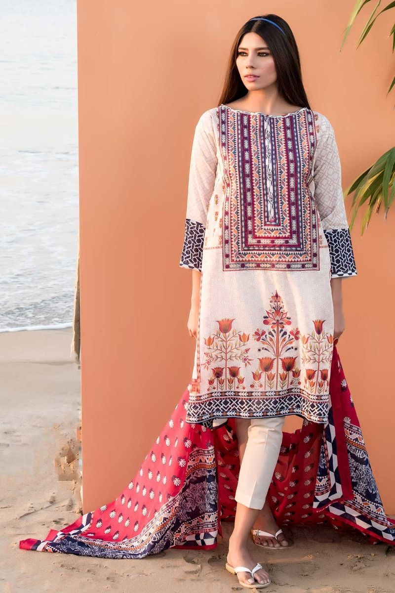 14b6bedb81 Khaadi Latest Summer Lawn Dresses Designs Collection 2019 | Shalwar ...