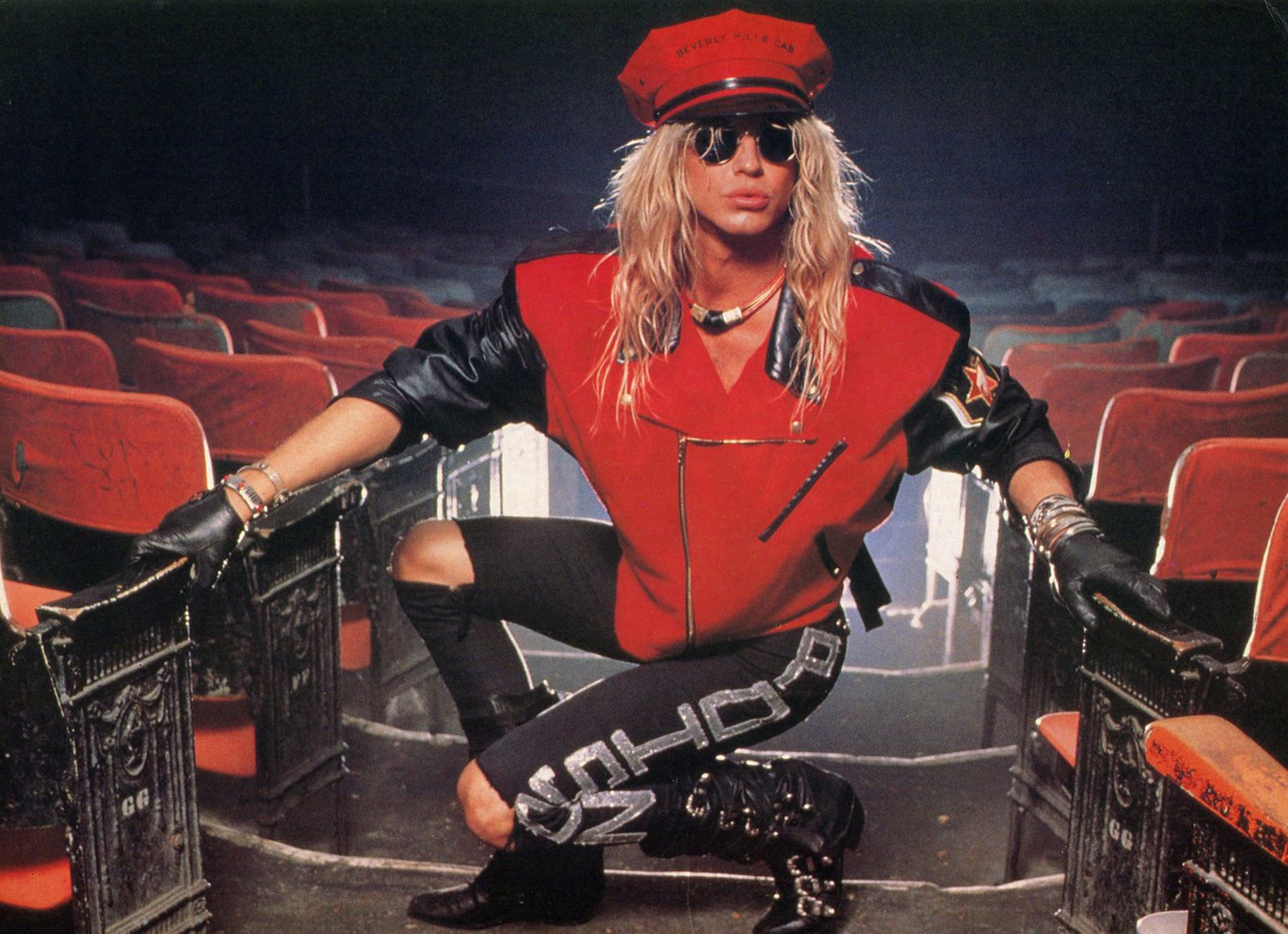 Pin By Shannon Eidson On Poison Band 1988 1989 Bret Michaels Poison Bret Michaels Long Hair Styles Men