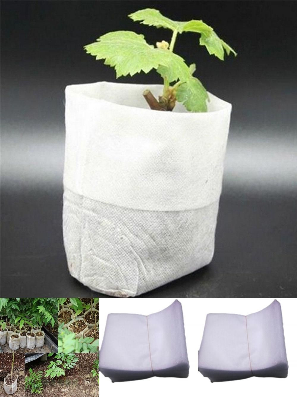 Visit to buy 100pcspack garden supplies environmental protection cheap nursery pots seedling raising bags buy quality fabric garden pots directly from china garden supplies suppliers 100 pcs nursery pots workwithnaturefo