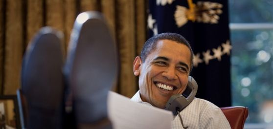 Obama's on Pinterest
