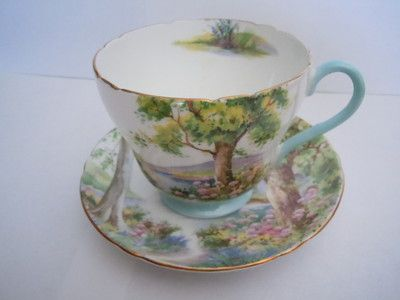 "Shelly ""Woodland"" cup and saucer"