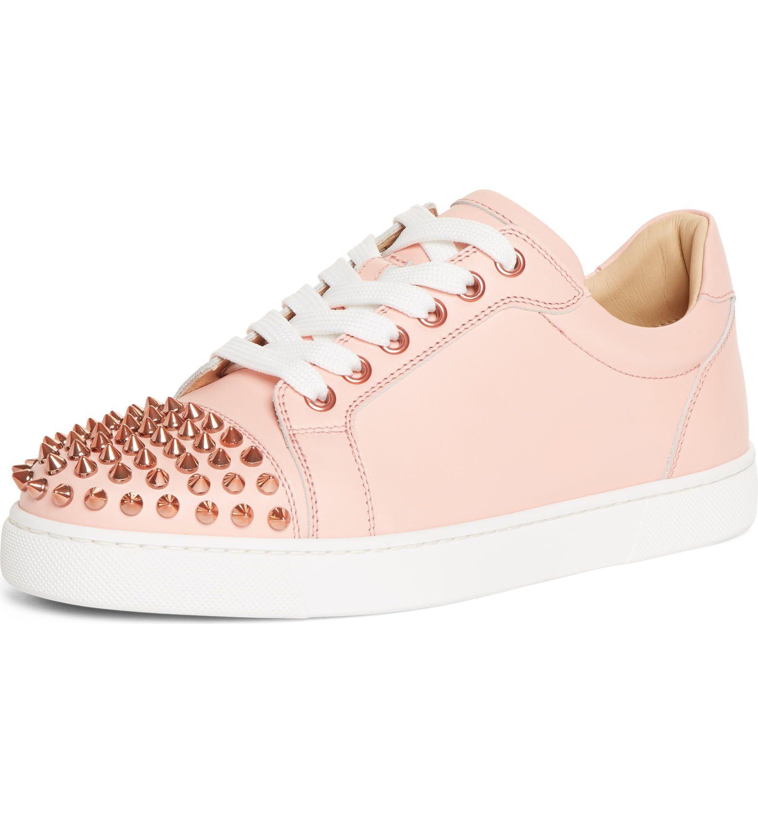 5da0cc39983 Christian Louboutin Vieira Spiked Low Top Sneaker (Women ...