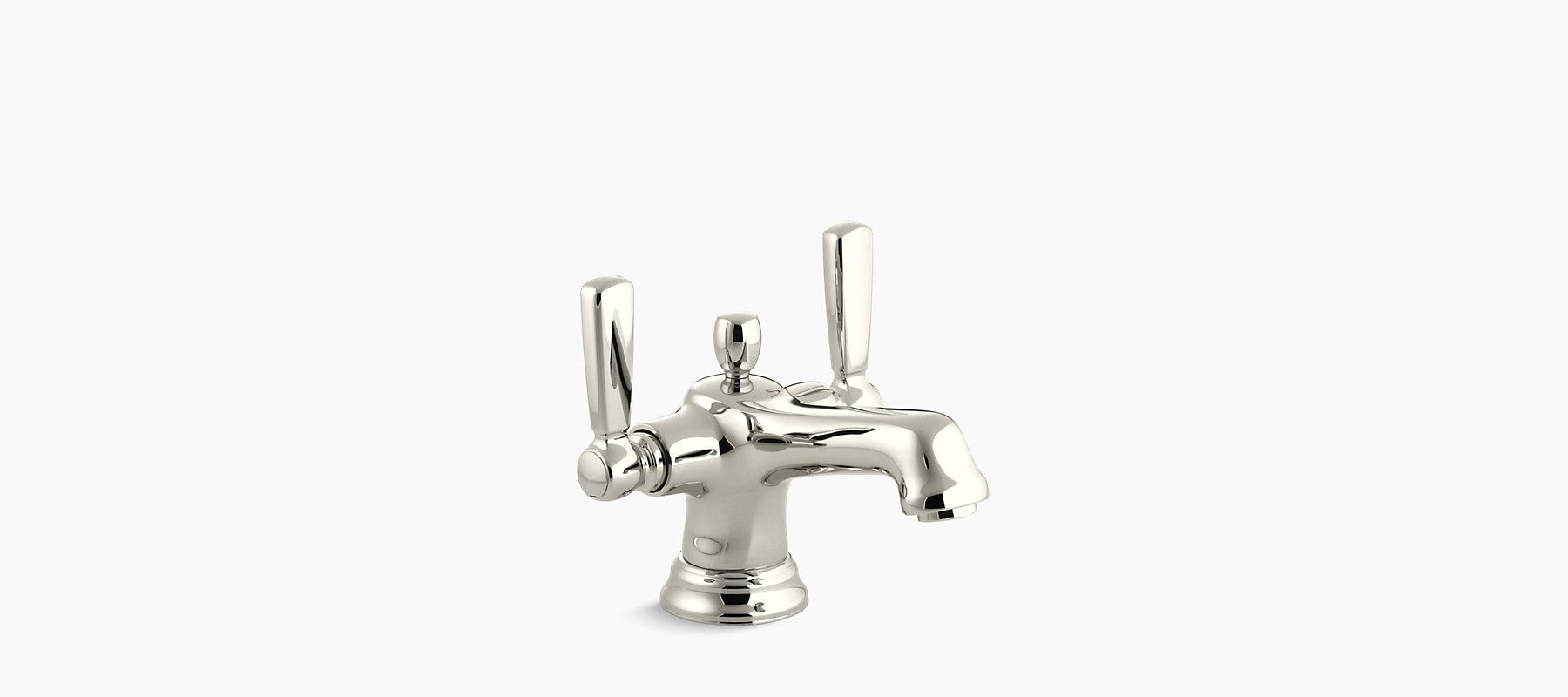 The ADA-compliant K-10579-4 faucet offers charming vintage style for ...