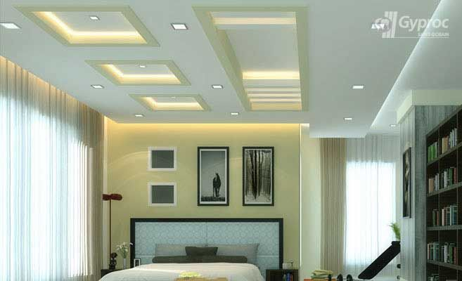 False ceiling drywall saint gobain gyproc india a for Best bedroom false ceiling designs