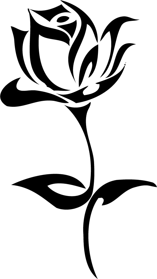 Tattoo Rose Png Image Flower Drawing Design Tribal Drawings Tribal Rose Tattoos
