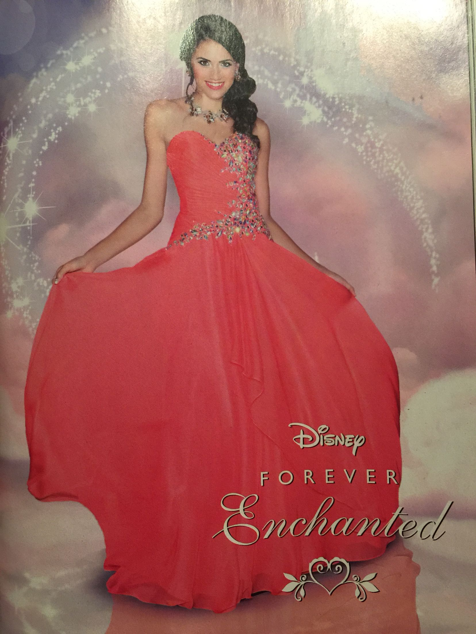 Forever Enchanted Prom Dress