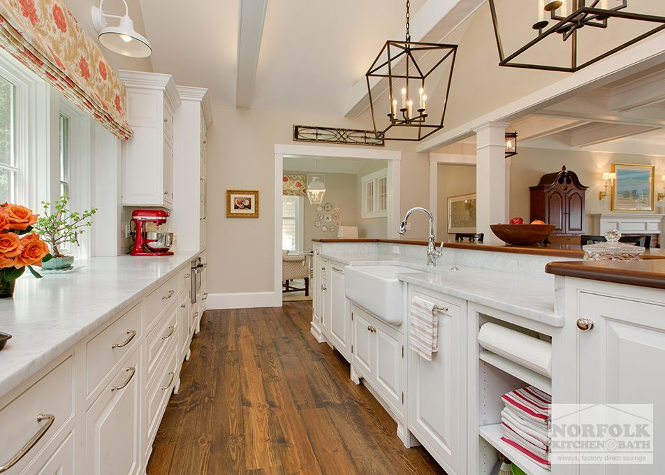 This White Kitchen By Showplace Features An Inset Style Door And Was Designed By Kathryn From