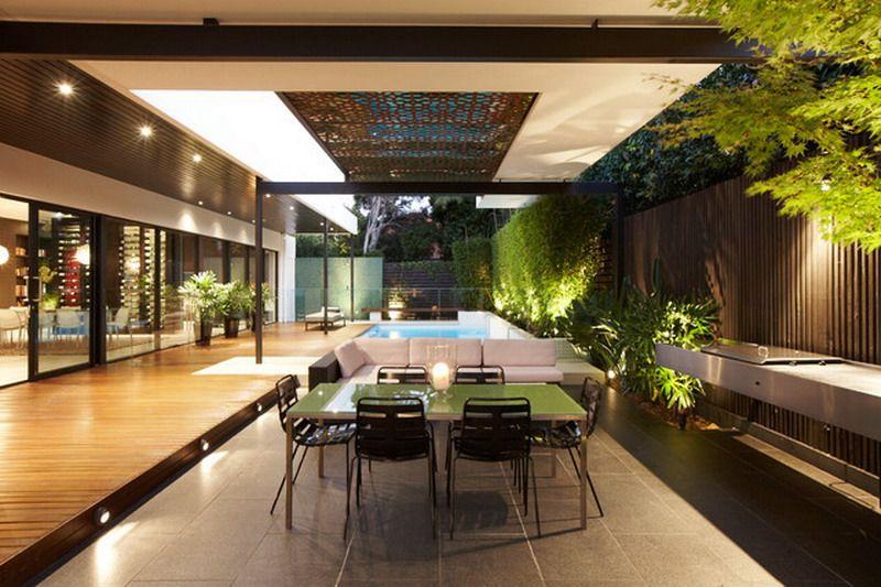 Gorgeaus Modern Patio Furniture Decorating Ideas | interior design ...