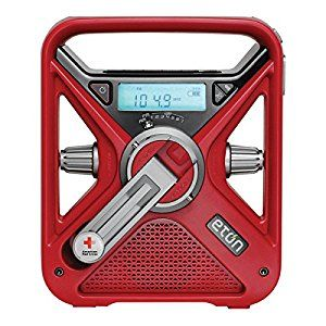 Amazon.com: American Red Cross FRX3 Hand Crank NOAA AM/FM weather Alert Radio with Smartphone Charger: Home Audio & Theater