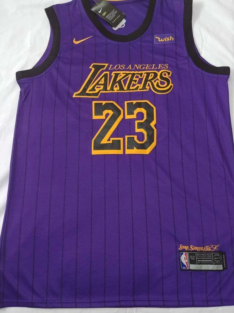 a587410244bb LeBron James  23 Lakers Jersey Los Angeles men stitched SHIP FROM USA Purple   LosAngelesAngels