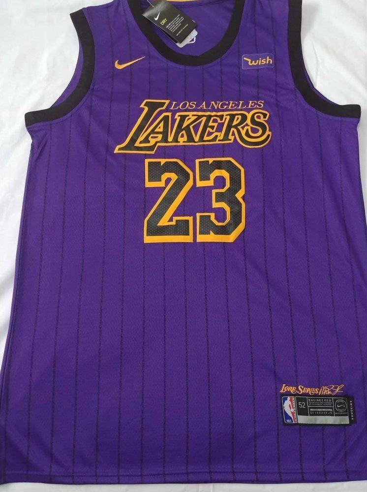 c63077ad1af LeBron James  23 Lakers Jersey Los Angeles men stitched SHIP FROM USA  Purple  LosAngelesAngels