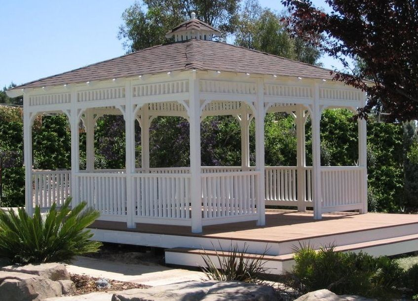 Gazebo Builders Photo Gallery 2 Quality Craftsmenship Since 1980 Decks Backyard Building A Deck Gazebo