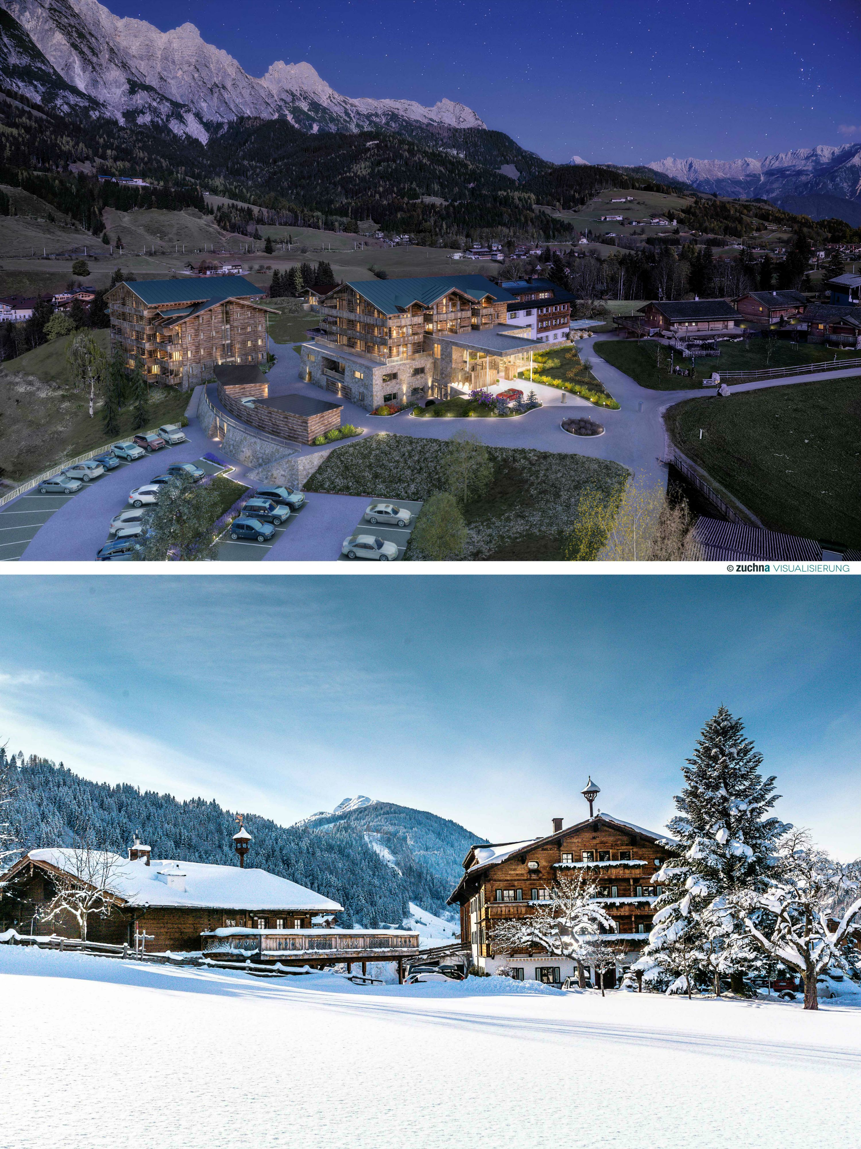Hotel Chalets Puradies Leogang Skiing Travel