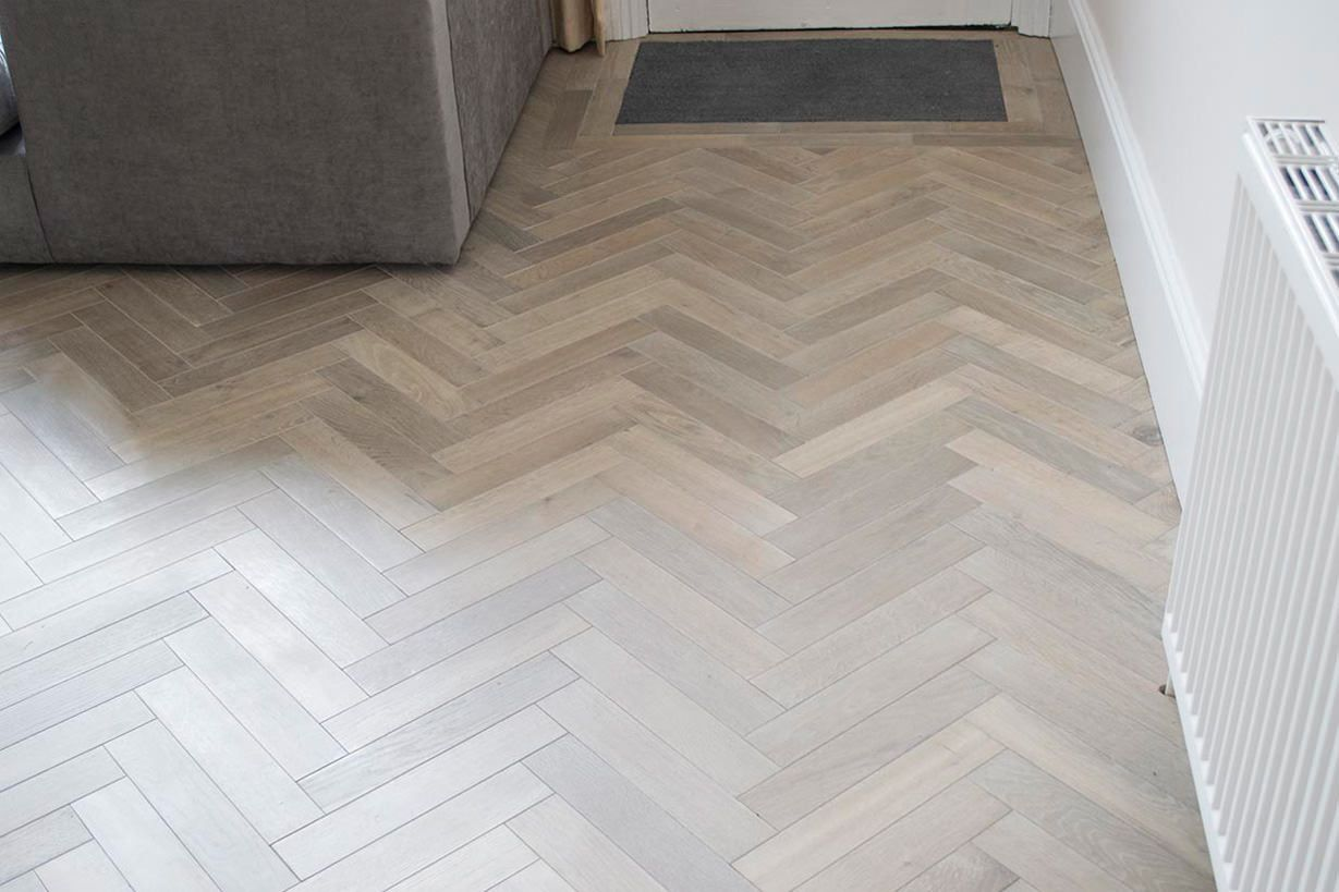 Decor Tiles Watford Classy This Is Our Herringbone Light Finish In Watford Hertfordshire Decorating Design