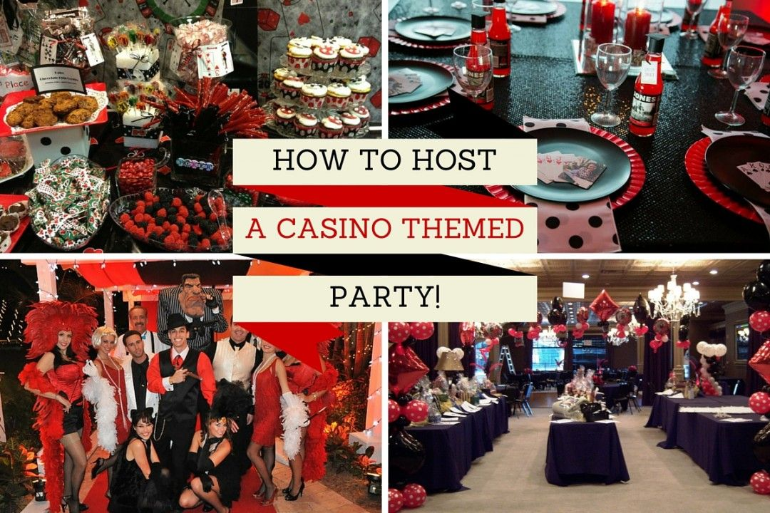 casino themed night
