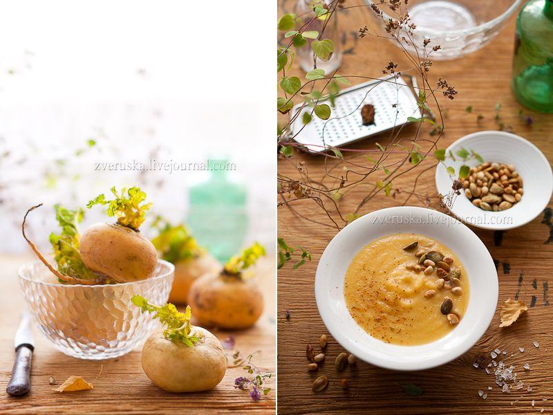 Завтра будет новый день... - Суп из репы с кокосовым молоком и кленовым сиропом