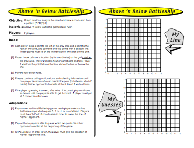 The Above N Below Battleship Game Gives Kids A Chance To Work