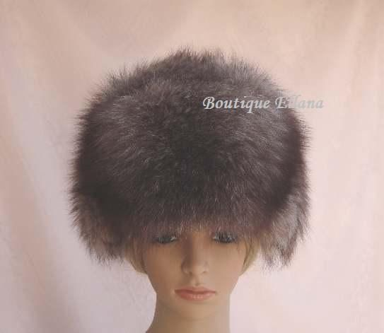 Trooper Russian Ushanka Hat. With Real Fox Fur. Great GIFT.