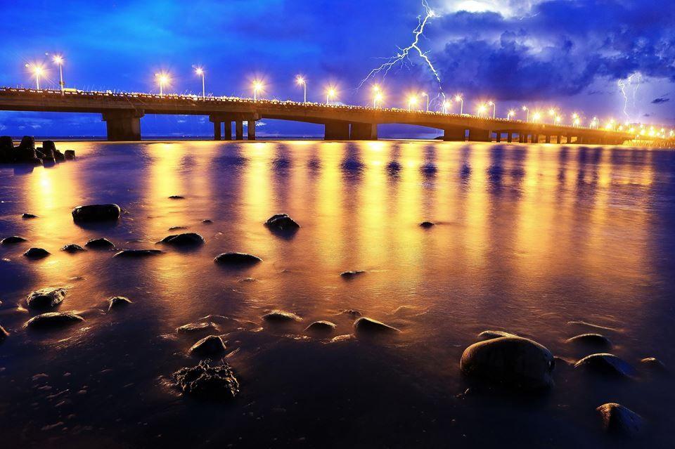 Sicao Bridge. Tainan #Taiwan 台南 四草大橋