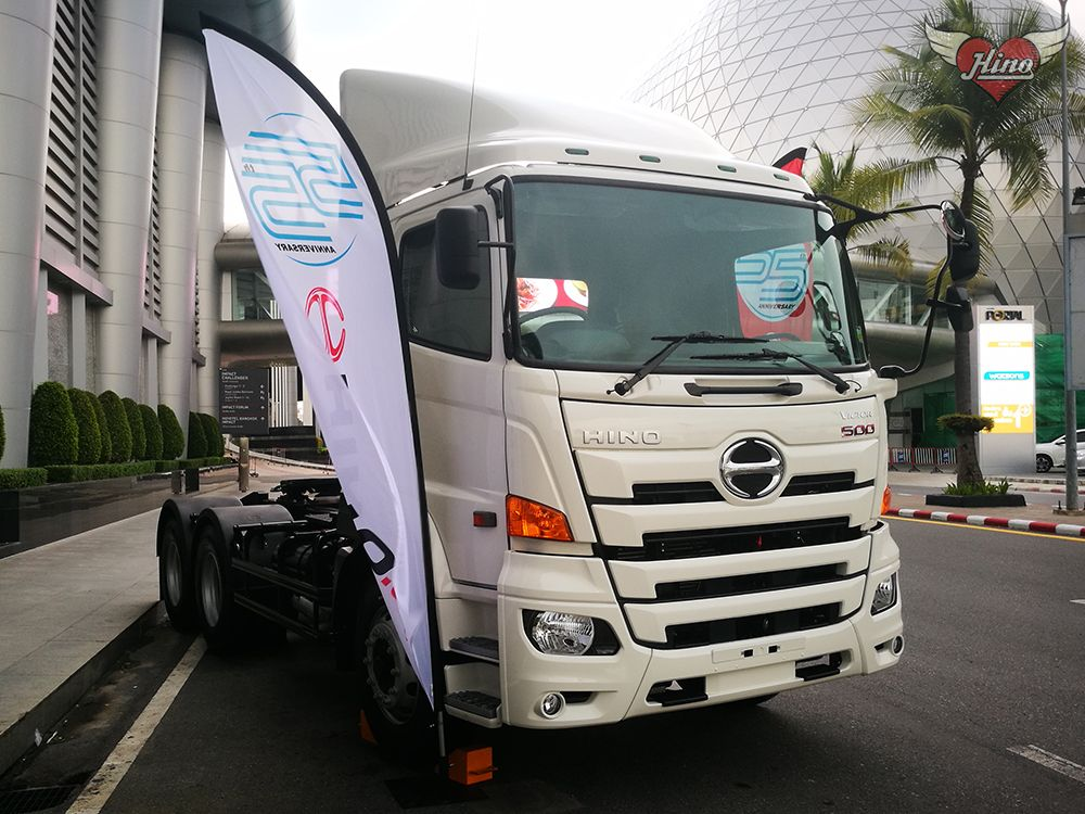 Review รถ Hino 500 Victor รุ่นพิเศษ 55ปี Limited Edition