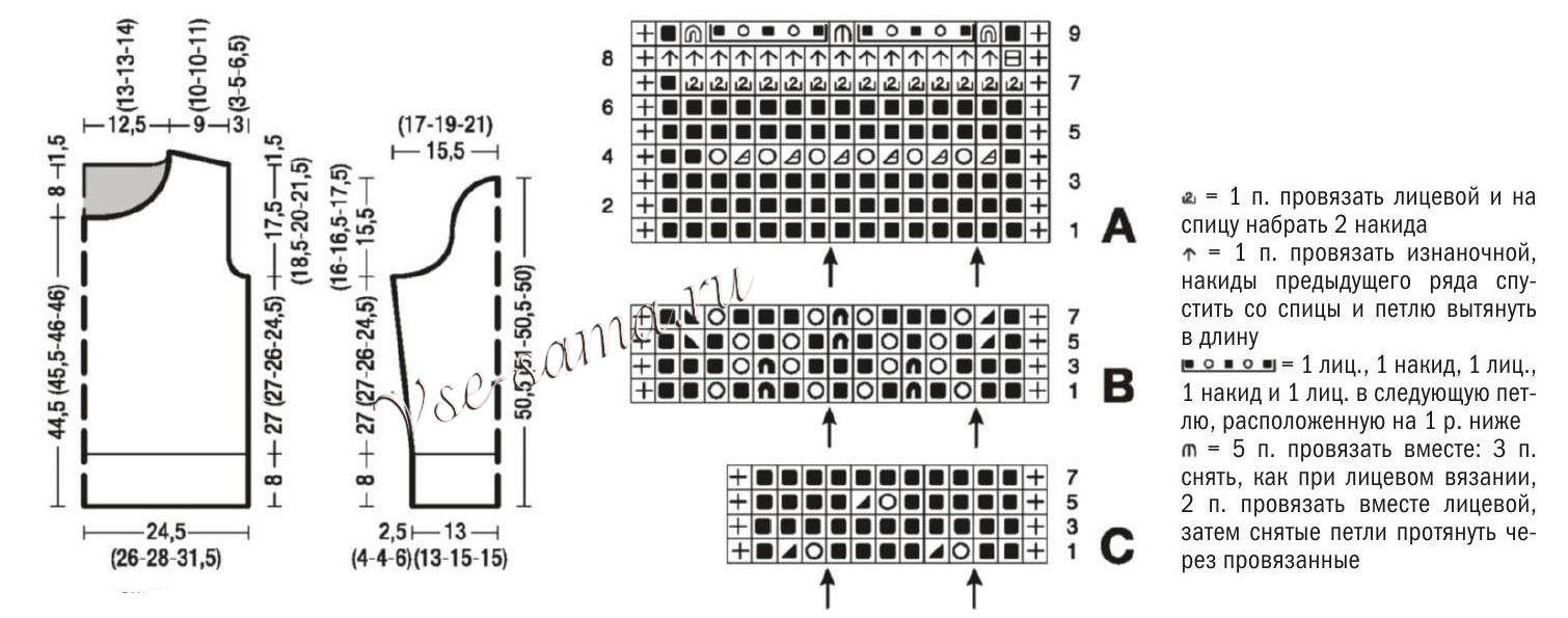 El patrón de circuito y jersey de tricotado | tejido crochet ...
