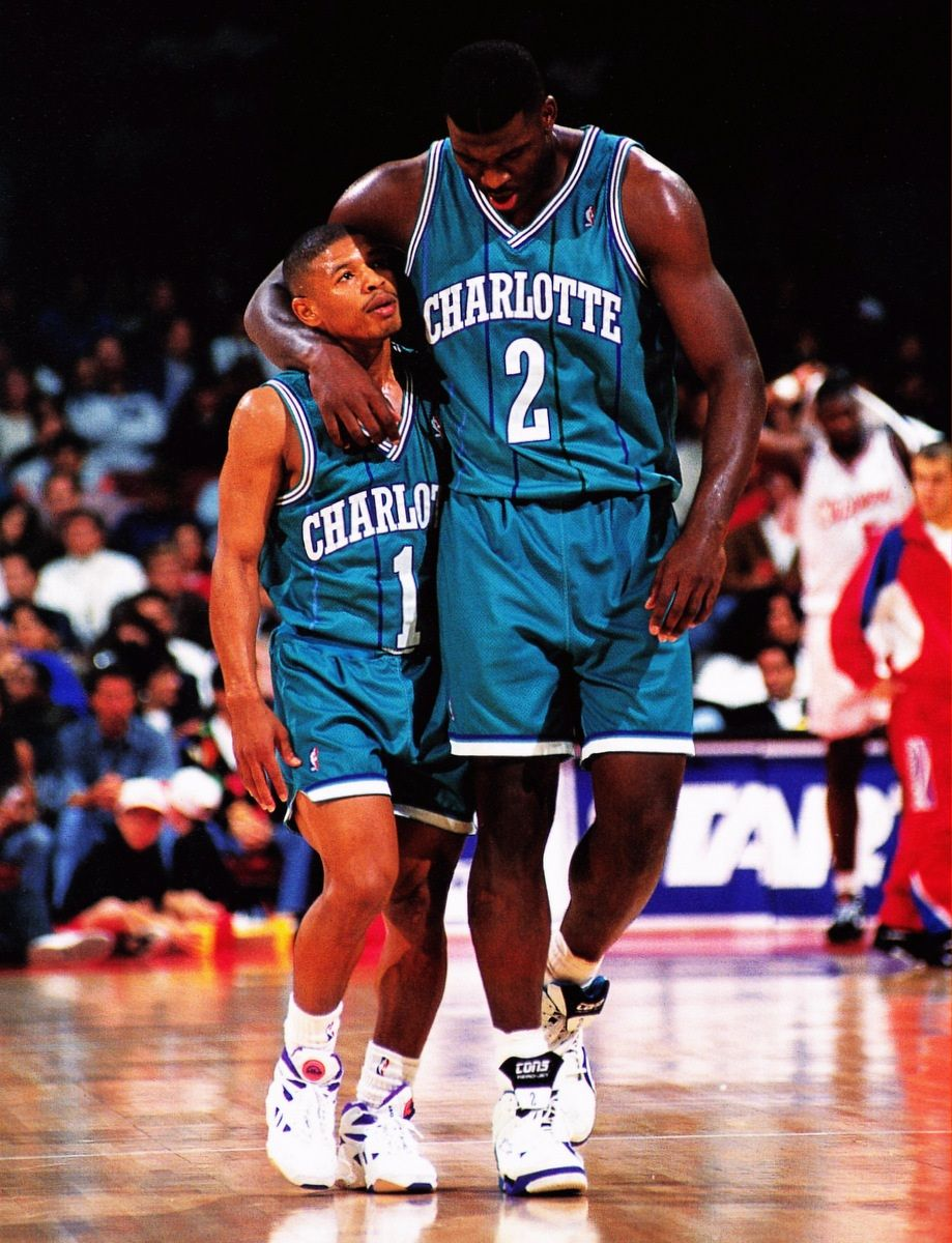 Muggsy And Larry Johnson My friend and me in the future. I