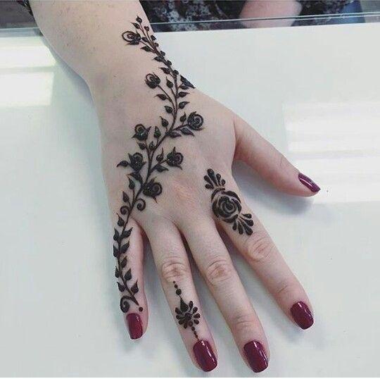 Rose Art Mehndi Designs For Hands Mehndi Designs 2018 Henna