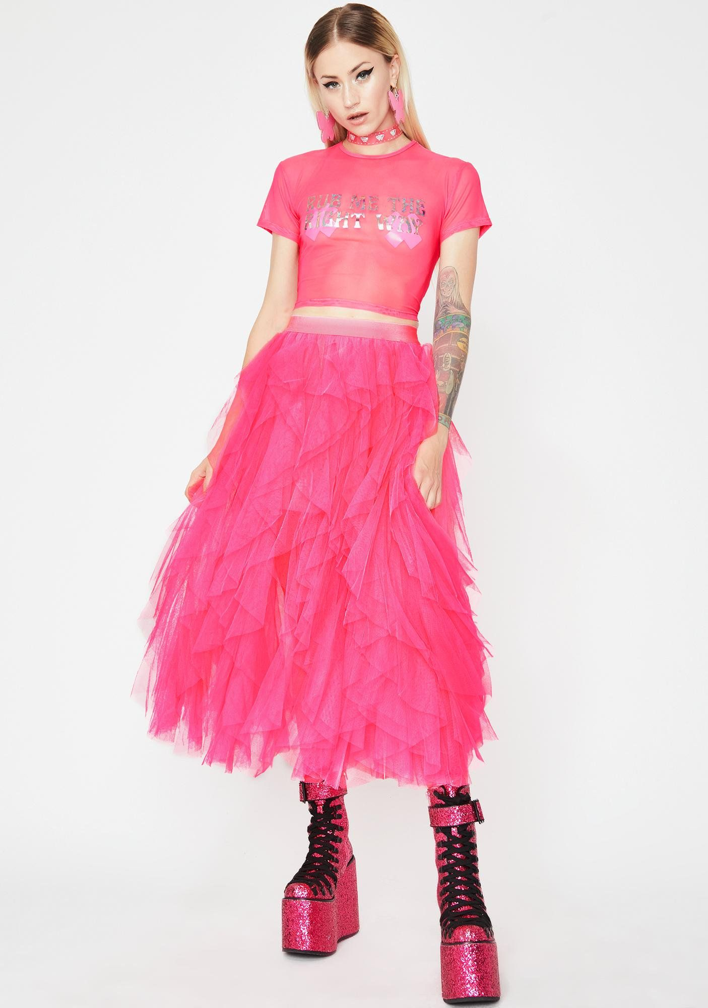 7d2dd1f2d Pixie Dreams Tulle Skirt in 2019 | fashion | Skirts, Tulle, Sheer ...