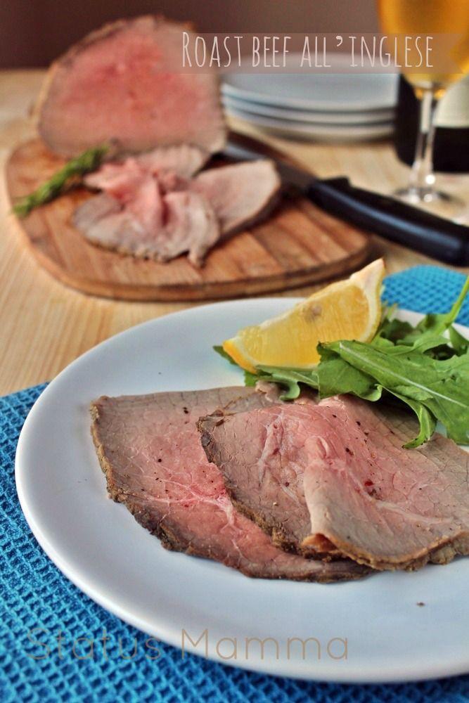Photo of English roast beef easy recipe-Roast beef all'inglese ricett…