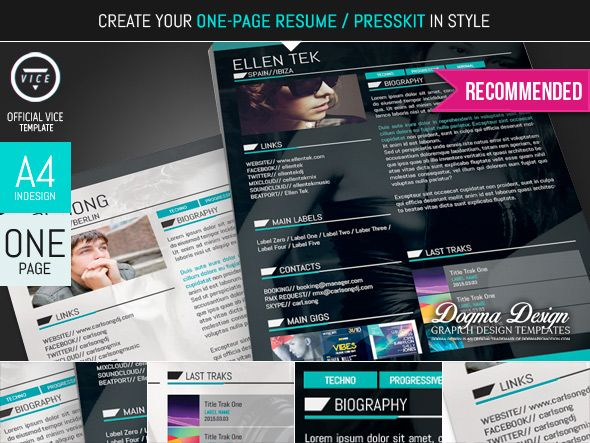 Vice Music Band, Dj and Radio WordPress Theme Vice music and - dj resume