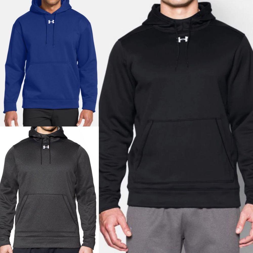 UNDER ARMOUR Hoodie Storm Fleece Team Sweatshirt READ