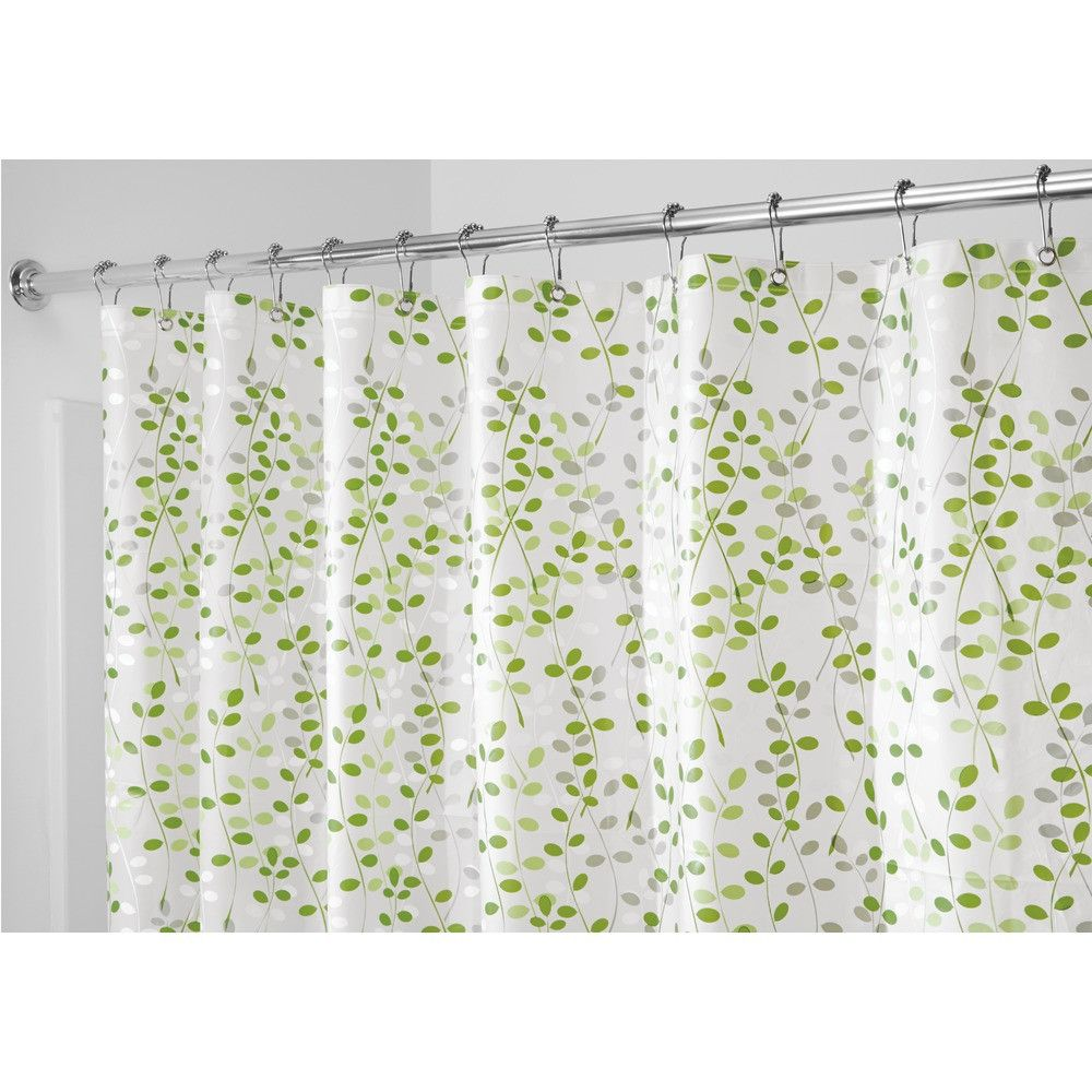 InterDesign Vine Shower Curtain Curtains, Vinyl shower